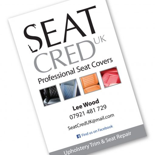 Seat Cred UK business card front