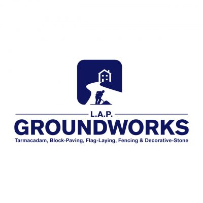 LAP Groundworks logo