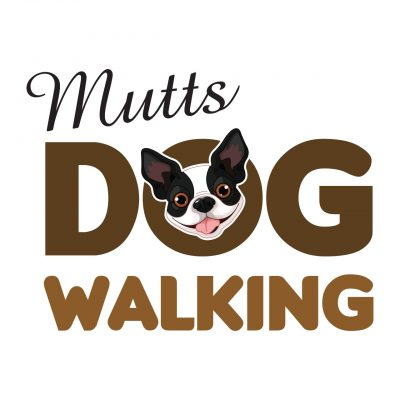Mutts Dog Walking logo