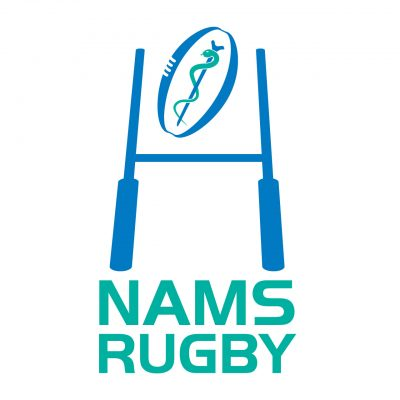 National Association of Medical Rugby Union logo