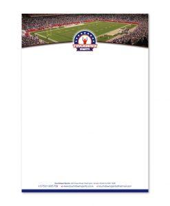 Touchdown Sports letterhead design