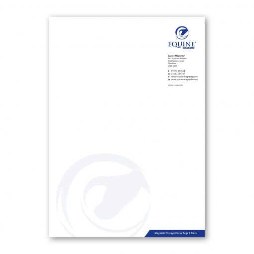 A4 Letterheads printed in full colour to one side